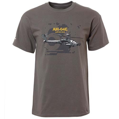 AH-64E Apache Graphic T-Shirt