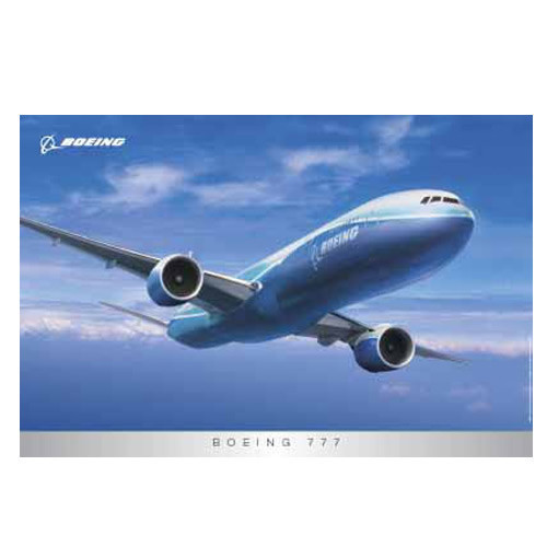 Poster - Boeing 777 / External