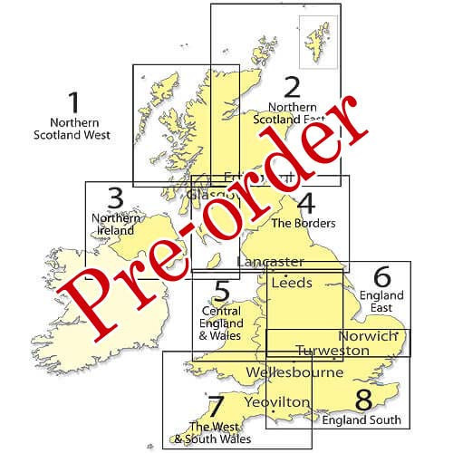 SHEET 5 Central Eng/Wales 1:250:000 Chart - Pre-order