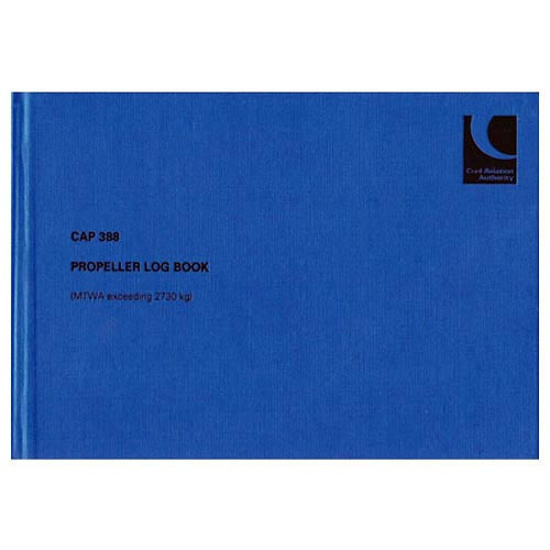 CAP 388 Variable Pitch Propellor Logbook