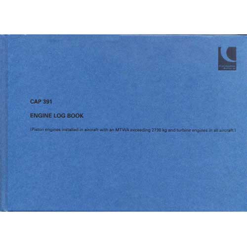 CAP 391 Engine Logbook