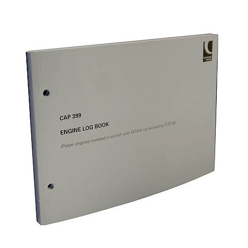 CAP 399 Engine Logbook