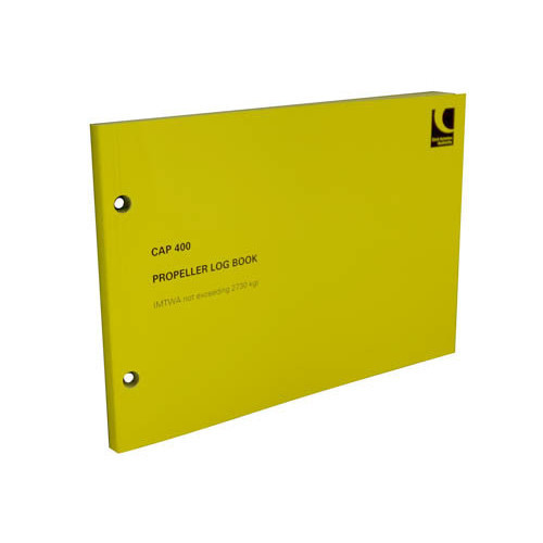 CAP 400 Variable Pitch Prop Logbook