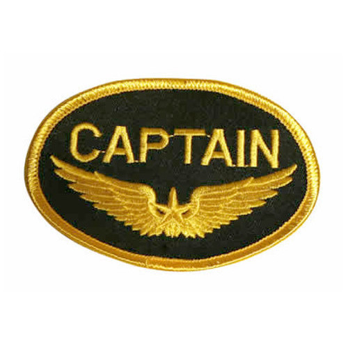 CAPTAIN Iron-on Patch