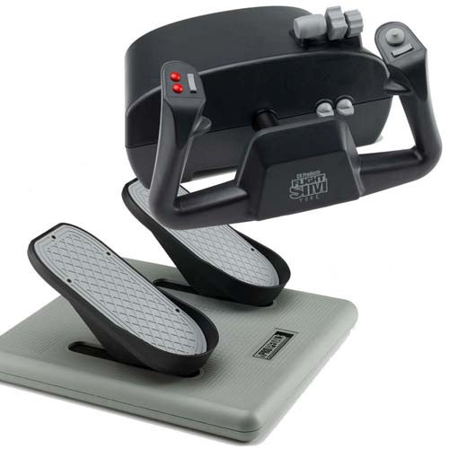 CH Bundle USB Pedals & 3 Lever Yoke