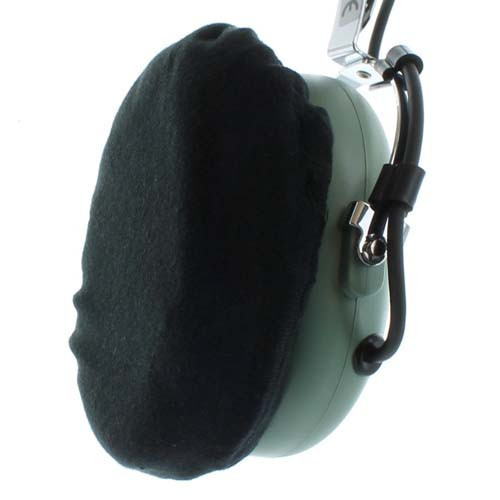 Black Cotton Ear Covers (Pair)