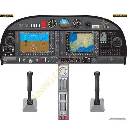 Diamondstar 42 Twinstar Cockpit Training Poster A