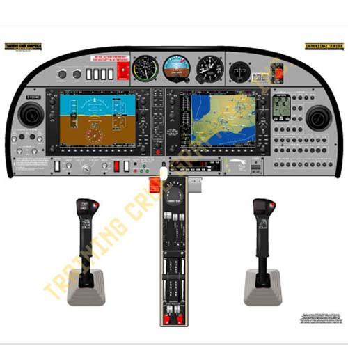 Diamondstar 42 Twinstar Cockpit Training Poster B