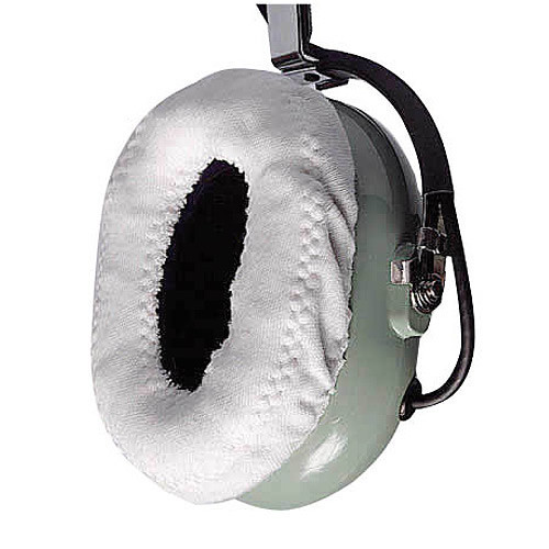 White Cotton Ear Covers (Pair)