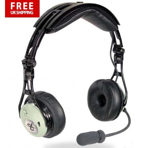 David Clark Pro-XA XLR5 ANR Headset (Airbus plug Non Bluetooth)