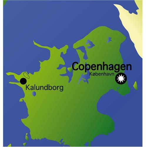 Danish COPENHAGEN Chart 1:250 000