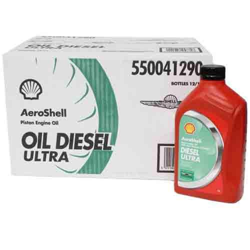 AeroShell Diesel Ultra - Case of 12 x 1 Litre Bottles