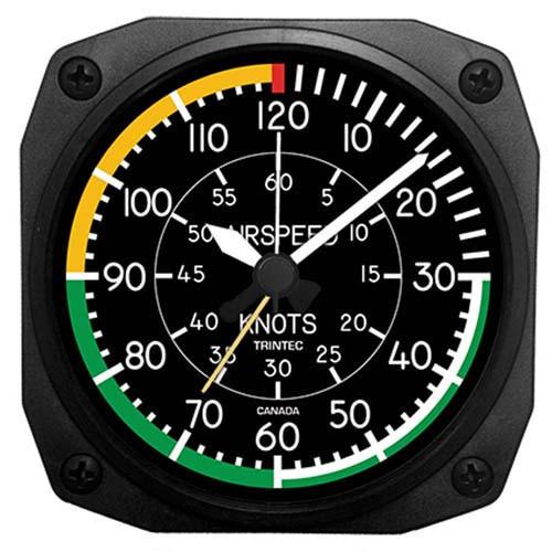 Desk Alarm Clock - Airspeed Indicator