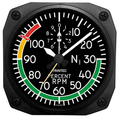 Desk Alarm Clock - RPM Gauge