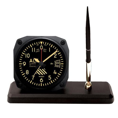Vintage Altimeter Desk Pen Set