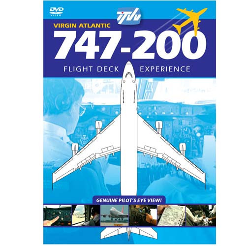 747-200 Virgin Atlantic Gatwick-Miami - DVD