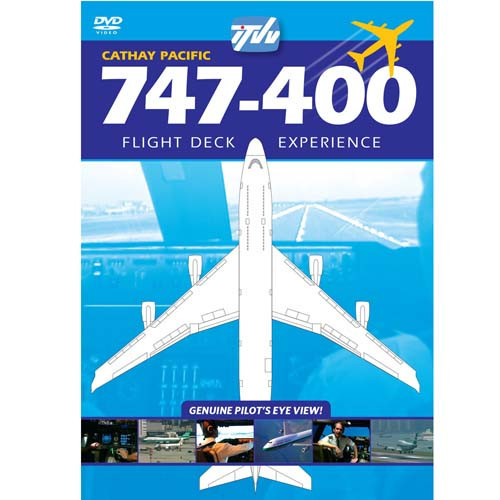 747-400 Cathay Pacific - DVD