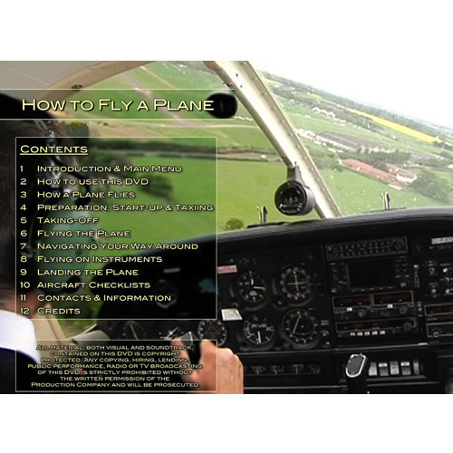 How to Fly a Plane - DVD