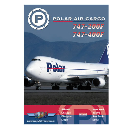 POLAR AIR Boeing 747-200/400 - DVD
