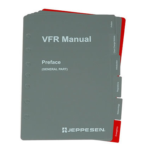 Jeppesen VFR SECTION TABS