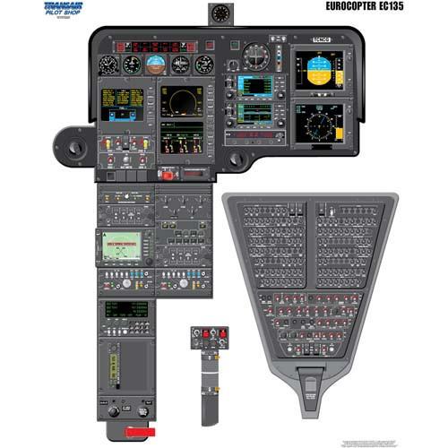 EUROCOPTER 135 Cockpit Training Poster