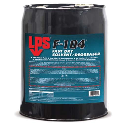 LPS F-104 Degreaser 18.93 Litre Barrel