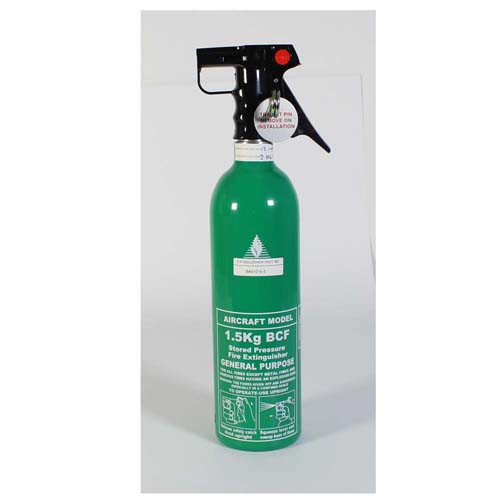 Aircraft BCF Fire Extinguisher 1.5kg BA51015-5