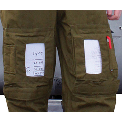 Knee Pocket Plastic Inserts for Flight Suits