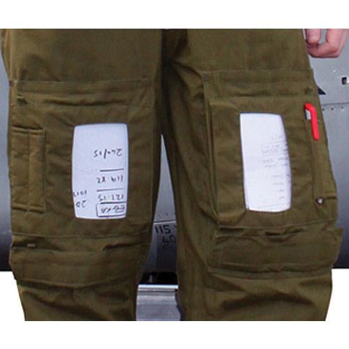 Knee Pocket Plastic Inserts for Flight Suits