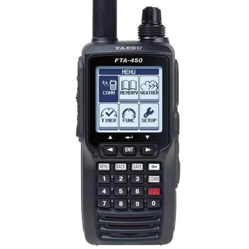 Yaesu FTA-450L Handheld VHF Transceiver
