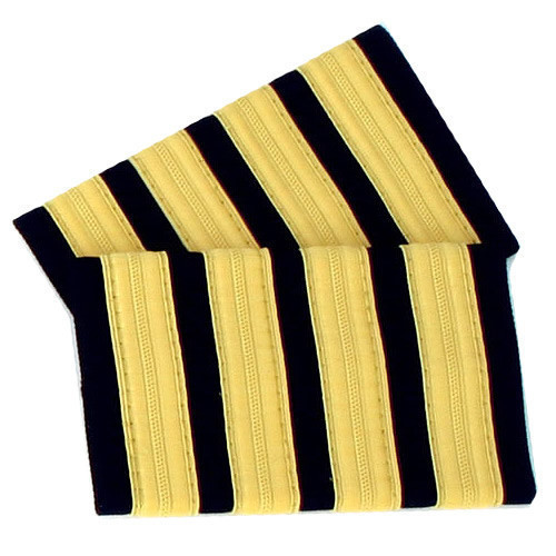 Four Bar Gold Epaulettes