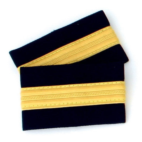 One Bar Gold Epaulettes