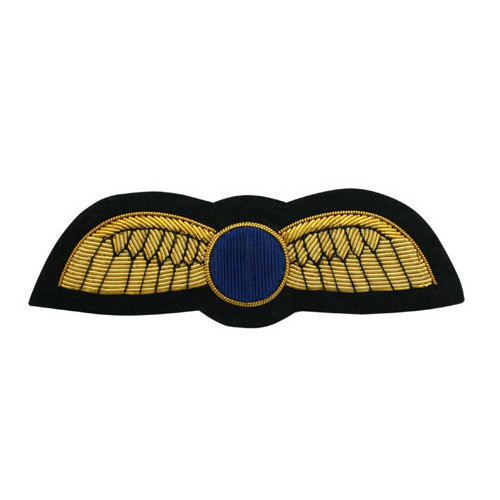 Pilot Uniform Wings (Gold PIN ON)