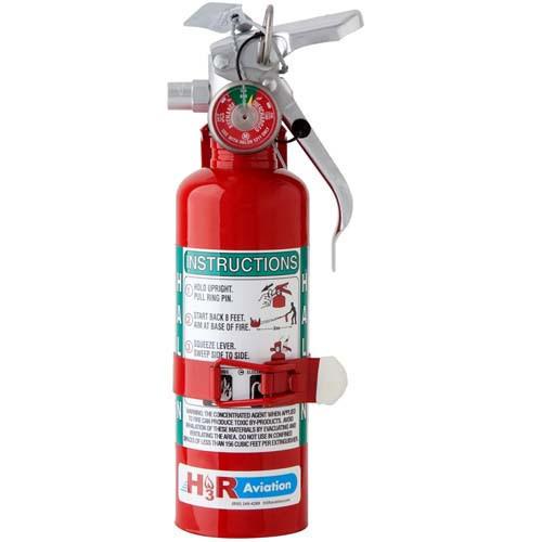 H3R A344T Aircraft Extinguisher. 1.25 lb - 0.567 kg