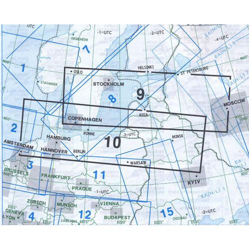 Jeppesen E(HI)9+10 IFR H/LEVEL Chart