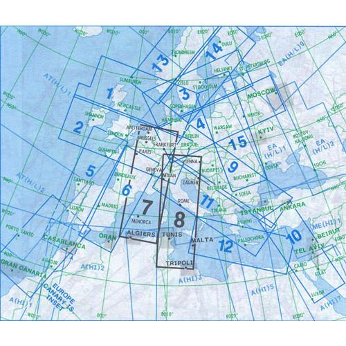 Jeppesen E(HI)7+8 IFR H/LEVEL Chart