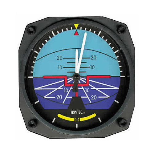 """6"""" Wall CLock - Artificial Horizon"""