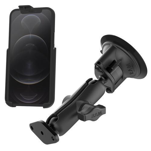 RAM Apple iPhone 12 & 12 Pro Suction Mount Kit
