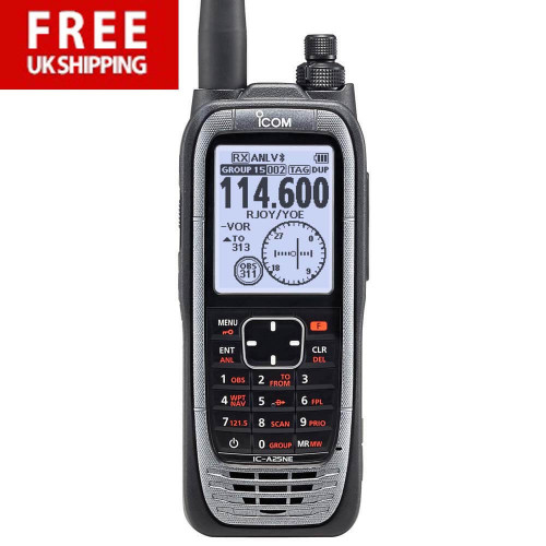 ICOM IC-A25NE Transceiver - Sport Pack