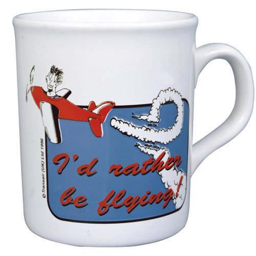 """Mug - """"I'd Rather be Flying"""""""
