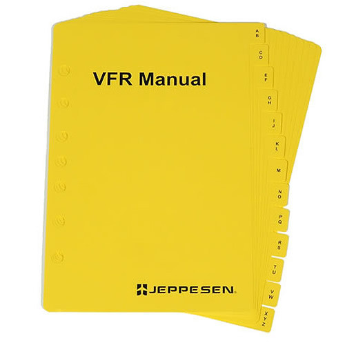 Jeppesen VFR A-Z Index Tabs