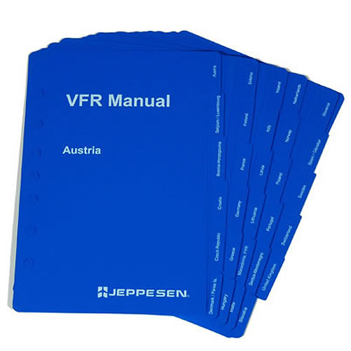Jeppesen VFR  COUNTRY TABS