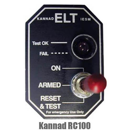 Kannad ELT Remote Control Panel