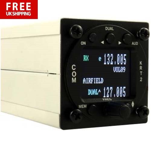 TQ (Formerly Dittel) KRT2 VHF Transceiver 8.33 kHz - 6W Transmitted Power