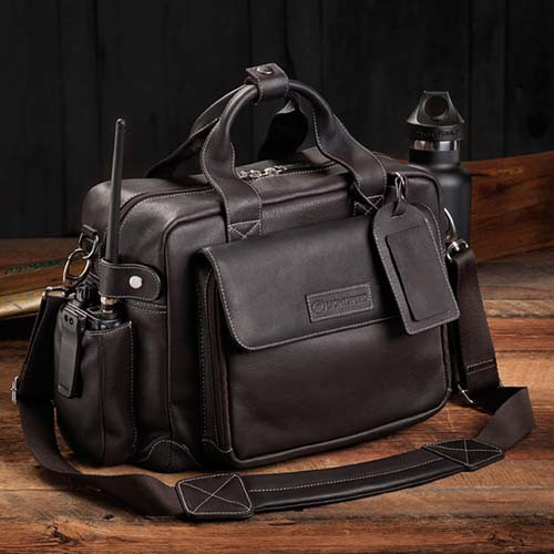 LightSpeed Flight Bag - The Markham - Espresson Br