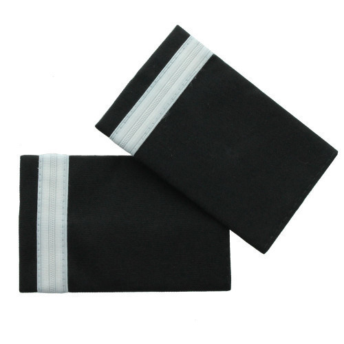 One Bar Silver Epaulette Board