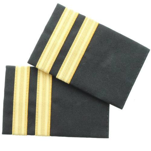Two Bar Gold Epaulette Board