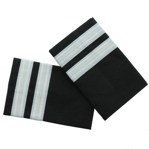 Two Bar Silver Epaulette Board