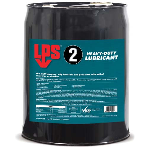 LPS2 Heavy Duty Lubricant 18.93 Litre Barrel