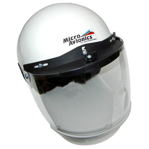 Microavionics MM020A Helmet with Visor & Air Dam